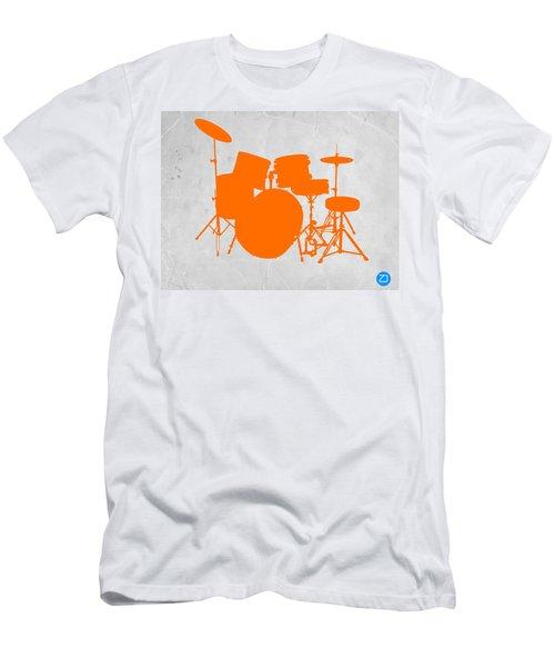 Orange Drum Set Men's T-Shirt (Athletic Fit)
