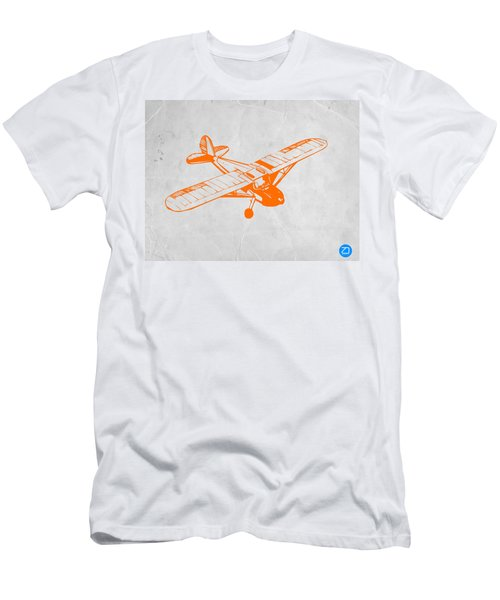 Orange Plane 2 Men's T-Shirt (Athletic Fit)