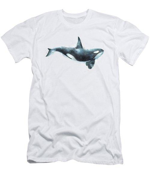Orca Men's T-Shirt (Slim Fit) by Amy Hamilton
