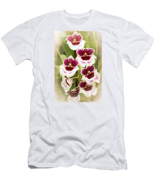 Orchid 2 Men's T-Shirt (Slim Fit) by Catherine Lau