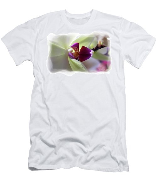 Orchid 2 Men's T-Shirt (Slim Fit) by David Bearden