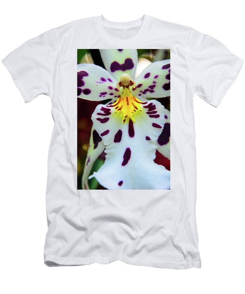 Orchid Cross Men's T-Shirt (Athletic Fit)