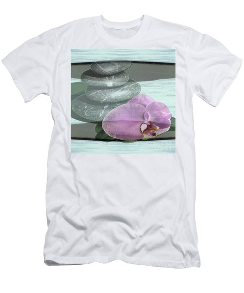 Orchid Tranquility Men's T-Shirt (Athletic Fit)