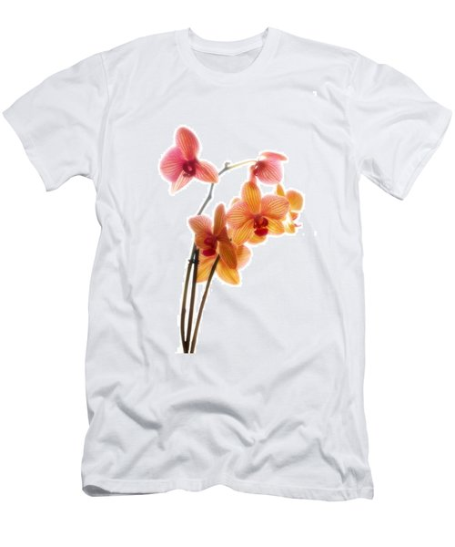 Orchids Men's T-Shirt (Slim Fit) by Mark Alder