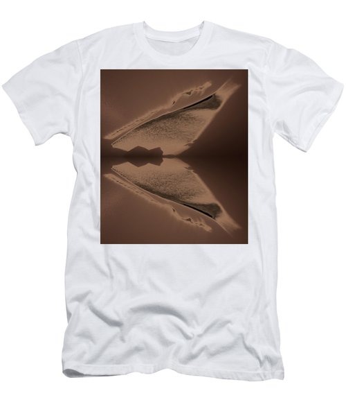 Organic Details Near That Strongly-held Dividing Line 2015 Men's T-Shirt (Athletic Fit)