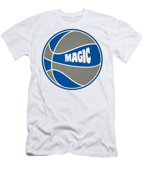 Orlando Magic Retro Shirt Men's T-Shirt (Slim Fit) by Joe Hamilton