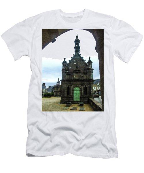 Ossuary Of St Thegonnec Men's T-Shirt (Slim Fit) by Helen Northcott