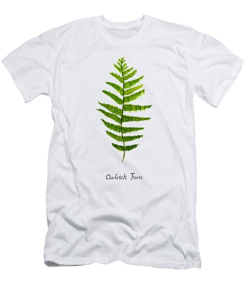 Ostrich Fern Men's T-Shirt (Athletic Fit)