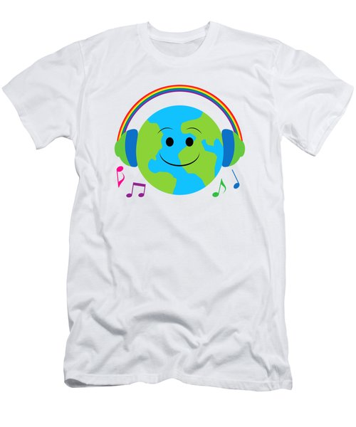 Our Musical World Men's T-Shirt (Slim Fit) by A