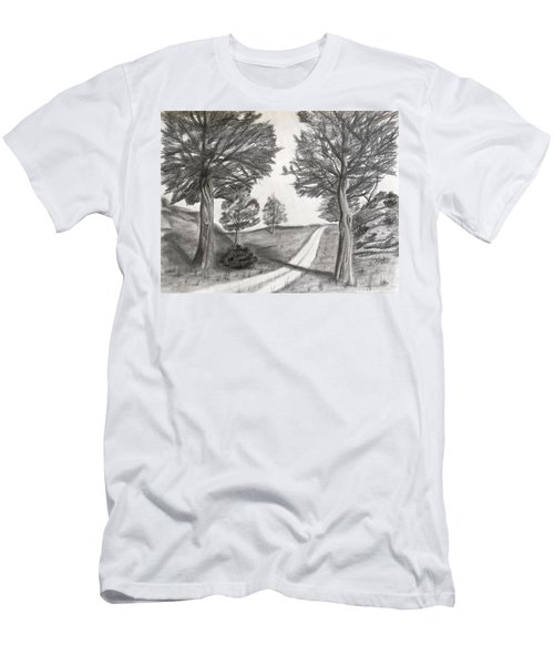 Out For A Walk Men's T-Shirt (Slim Fit)