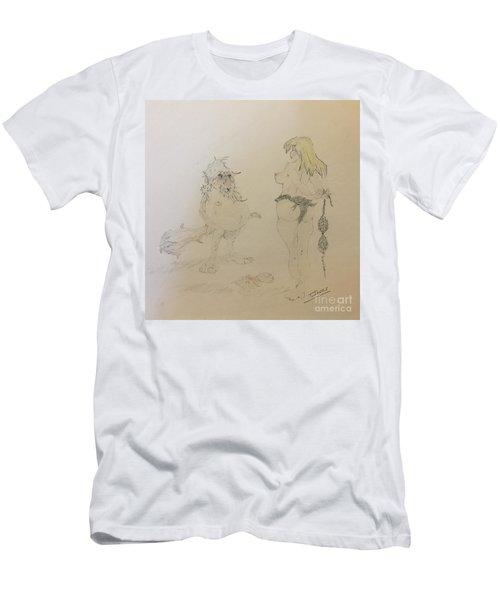 Out Of Your League  Men's T-Shirt (Athletic Fit)