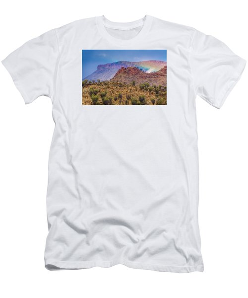Outback Rainbow Men's T-Shirt (Athletic Fit)