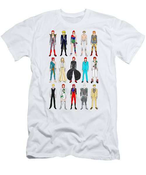 Outfits Of Bowie Men's T-Shirt (Athletic Fit)
