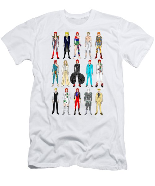 Outfits Of Bowie Men's T-Shirt (Slim Fit)