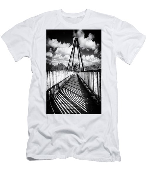Men's T-Shirt (Athletic Fit) featuring the photograph Over And Under by Nick Bywater