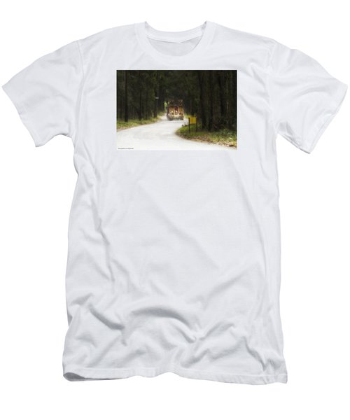 Men's T-Shirt (Slim Fit) featuring the photograph Over Size 01 by Kevin Chippindall