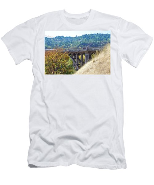 Overpass Underpinnings Men's T-Shirt (Slim Fit) by Adria Trail