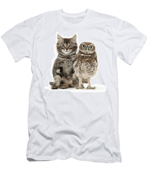 Owling And Yowling Men's T-Shirt (Athletic Fit)