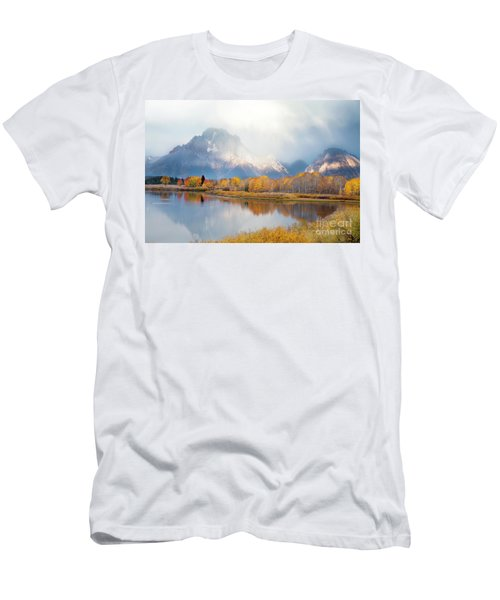 Oxbow Bend Turnout, Grand Teton National Park Men's T-Shirt (Athletic Fit)