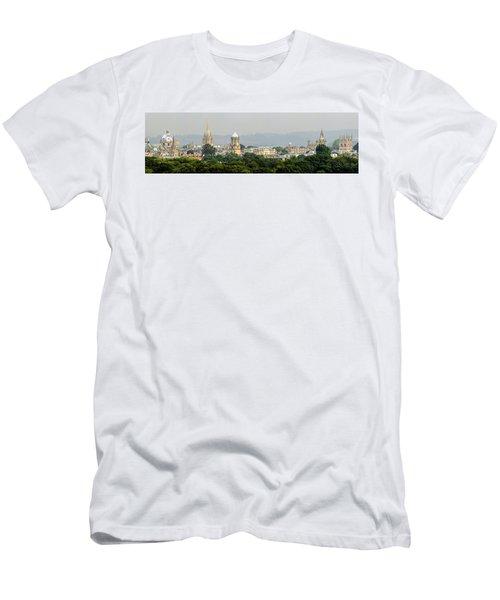 Oxford Spires Panoramic Men's T-Shirt (Slim Fit) by Ken Brannen