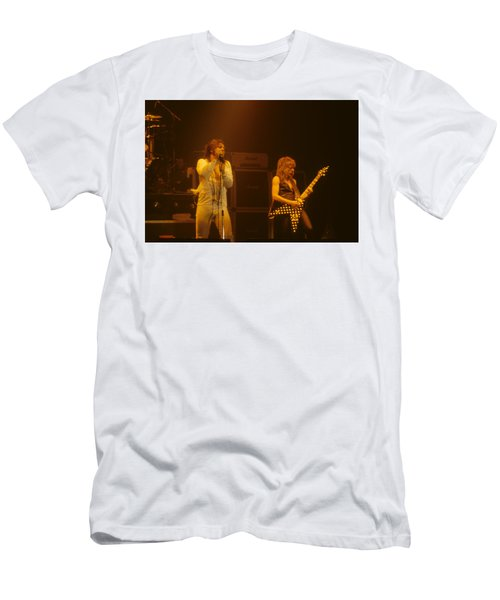 Ozzy Ozbourne And Randy Rhoads Men's T-Shirt (Athletic Fit)