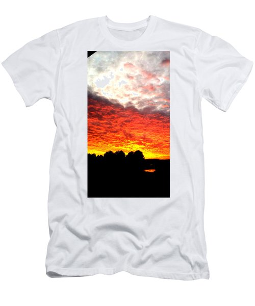 Pacific Coast Skies Men's T-Shirt (Athletic Fit)