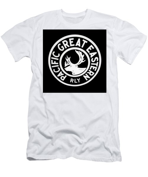 Pacific Great Eastern Men's T-Shirt (Athletic Fit)