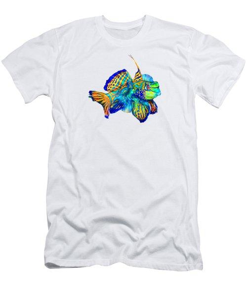 Pacific Mandarinfish Men's T-Shirt (Athletic Fit)