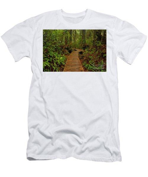 Pacific Rim Rainforest Trail Men's T-Shirt (Athletic Fit)