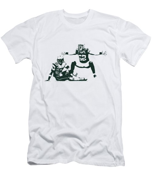 Packers Clay Matthews Sack Men's T-Shirt (Athletic Fit)