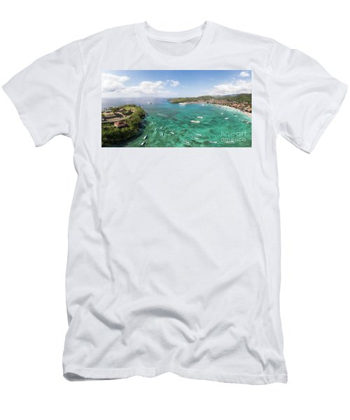 Padang Bai Panorama In Bali Men's T-Shirt (Athletic Fit)