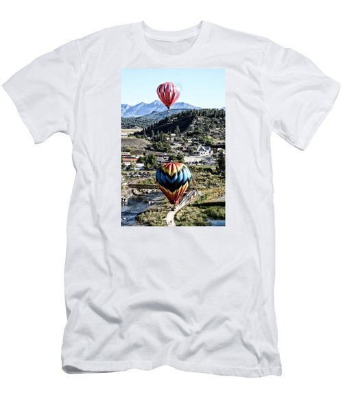 Pagosa Springs Colorfest 2015 Men's T-Shirt (Slim Fit) by Kevin Munro