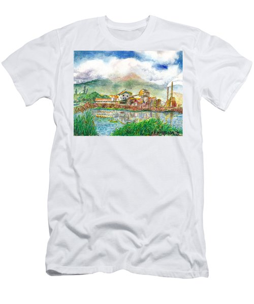 Paia Mill 1 Men's T-Shirt (Slim Fit) by Eric Samuelson