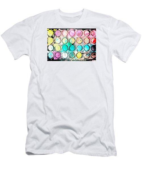 Paint Colors Men's T-Shirt (Athletic Fit)