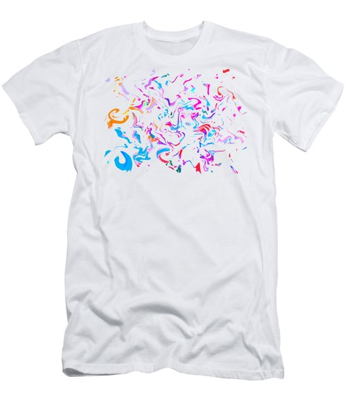 Paint Experiment 033 Men's T-Shirt (Slim Fit)