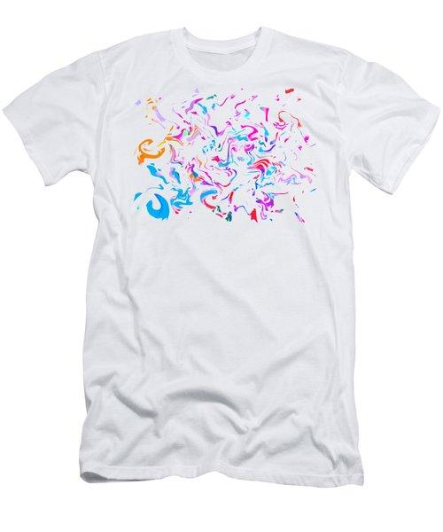 Paint Experiment 033 Men's T-Shirt (Athletic Fit)