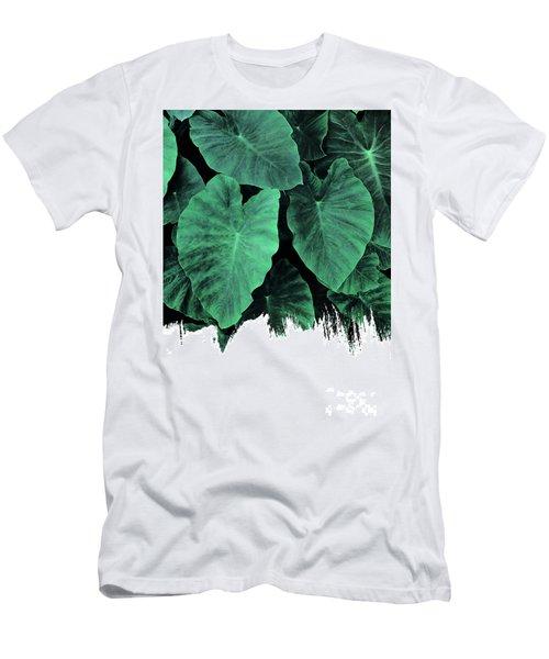 Paint On Jungle Men's T-Shirt (Athletic Fit)