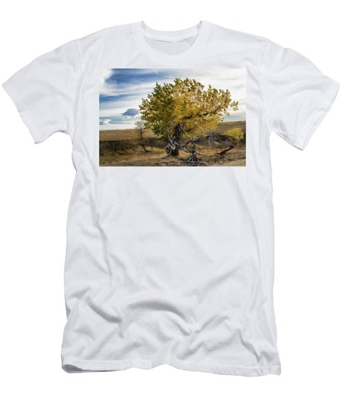 Painted By Nature Men's T-Shirt (Slim Fit) by Alana Thrower
