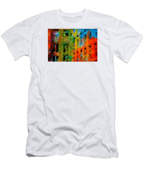 Painted Windows Men's T-Shirt (Athletic Fit)