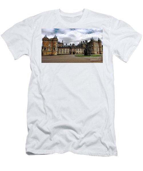 Palace Of Holyroodhouse  Men's T-Shirt (Slim Fit) by Judy Palkimas