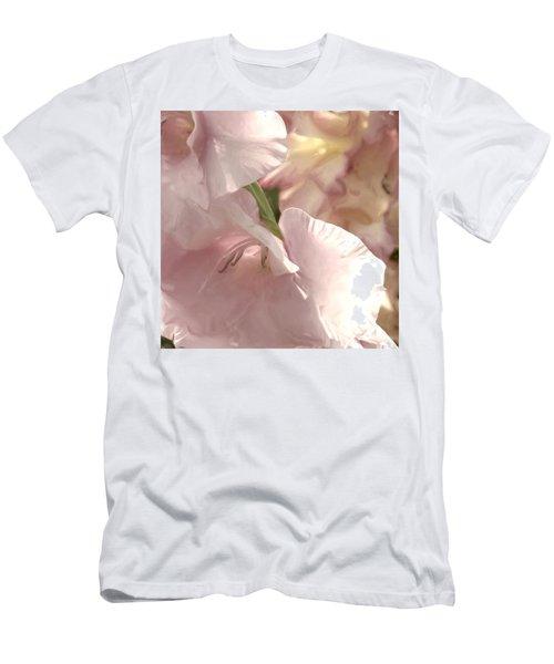 Pale Pink Glads Men's T-Shirt (Athletic Fit)