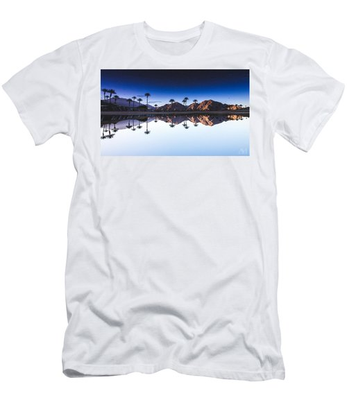 Palm Springs Reflection Men's T-Shirt (Athletic Fit)