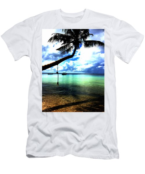 Palm Tree  Men's T-Shirt (Athletic Fit)