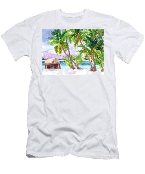Palmerston, Cook Islands Men's T-Shirt (Athletic Fit)