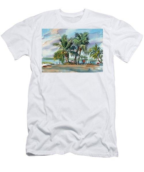 Palms On Sanibel Men's T-Shirt (Athletic Fit)