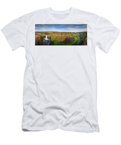 Palouse Falls Canyon Men's T-Shirt (Athletic Fit)