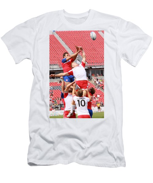 Pamam Games Men's Rugby 7's Men's T-Shirt (Athletic Fit)