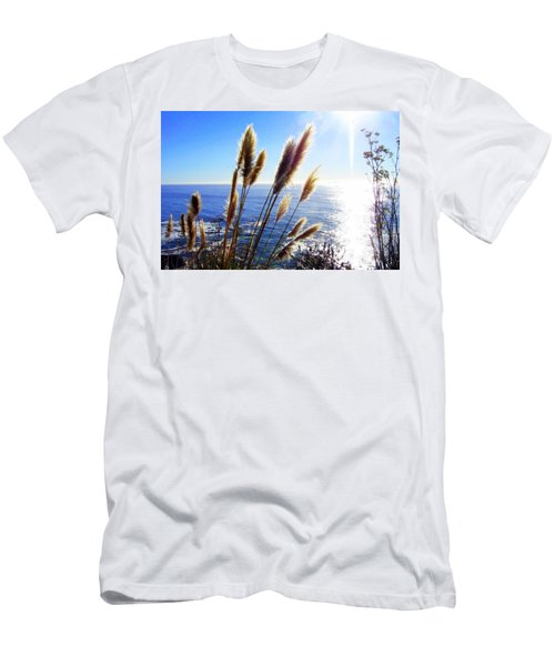 Pampas Grass And The Pacific 2 Men's T-Shirt (Athletic Fit)