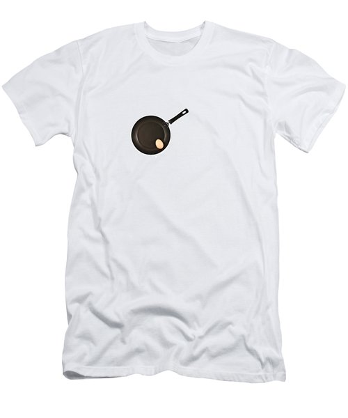 Pan With Egg Men's T-Shirt (Slim Fit) by Gert Lavsen