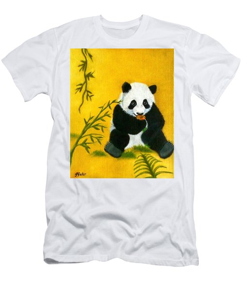 Panda Power Men's T-Shirt (Athletic Fit)